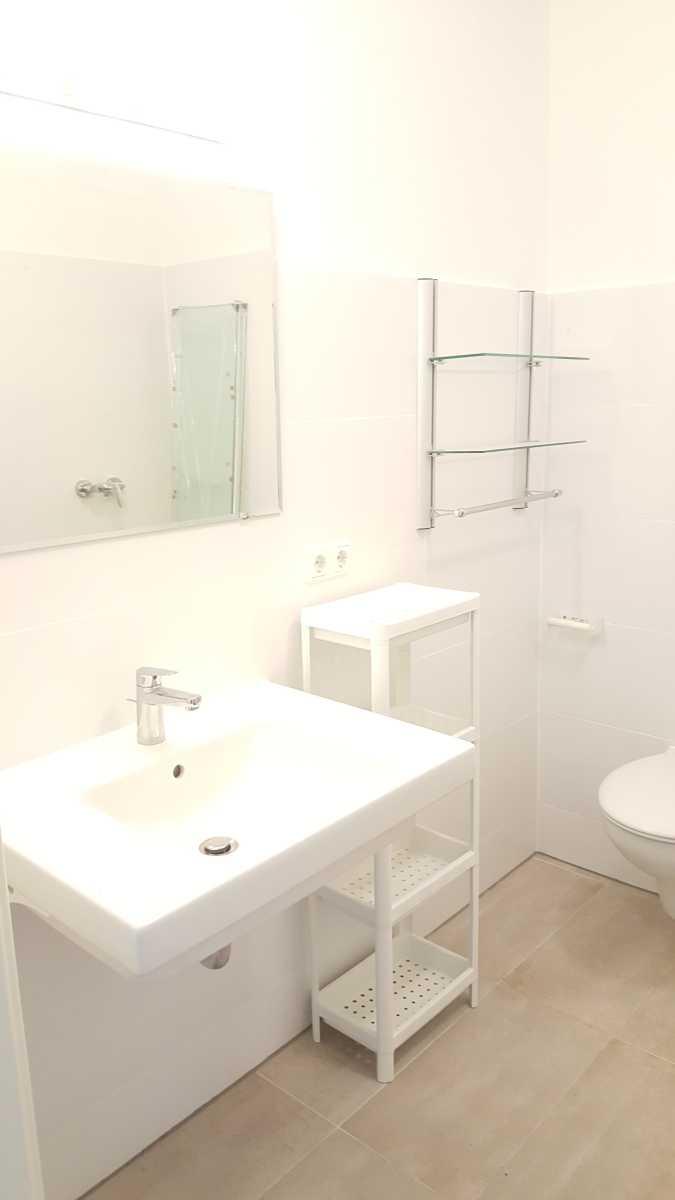 Eichenkrone Bad mit bodengleicher Dusche