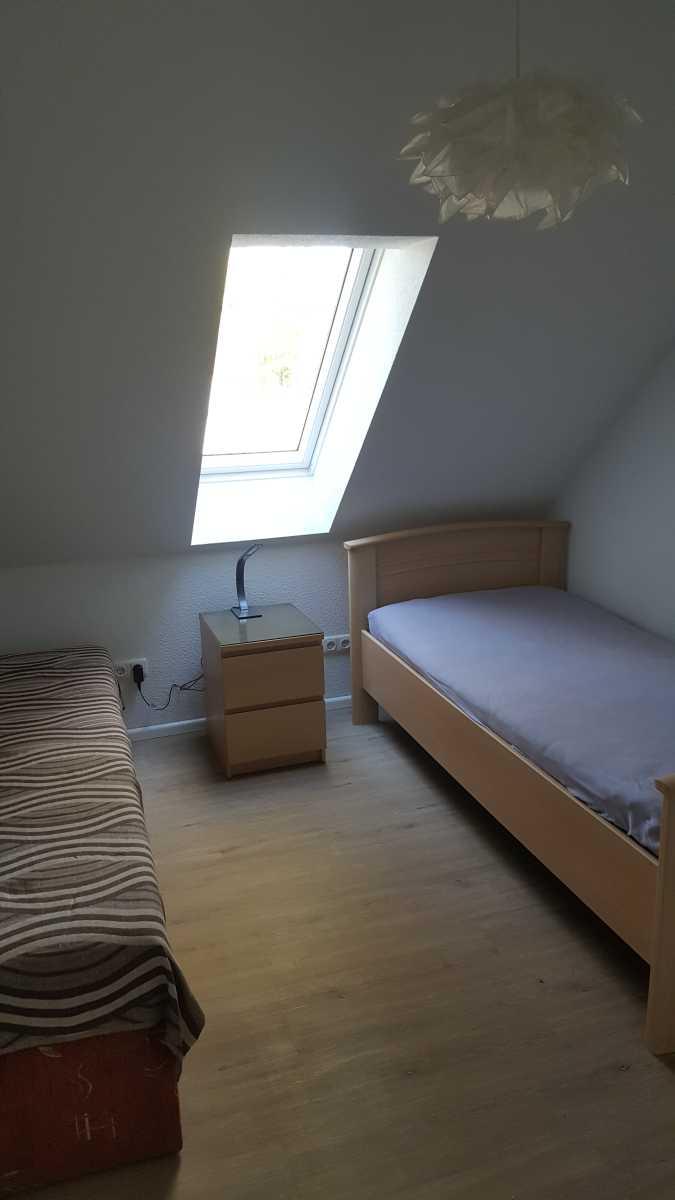 Waldwiese Schlafen OG zwei Einzelbetten